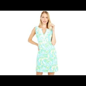 LILY PULITZER HARPER SHIFT DRESS IN URCHIN PINK